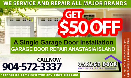 Contact 904 572 3337 garage door repair anastasia for Garage door repair st augustine fl